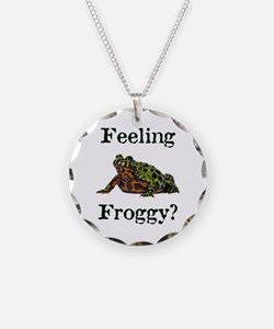 Feeling Froggy? Necklace