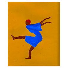 Voodoo Dancer Print Poster
