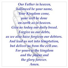 The LORD's Prayer Poster