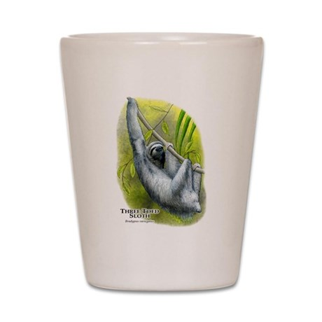 Three-Toed Sloth Shot Glass