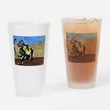 Cute Cataloony designs Drinking Glass