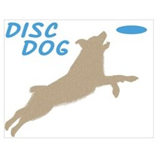 Disc Dog Poster