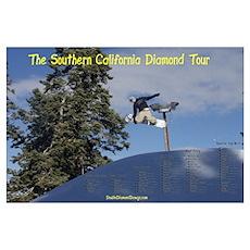 Southern California Diamond Tour Poster