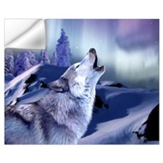 Winter Wolf Wall Decal
