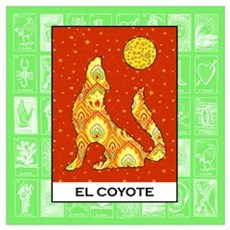 El Coyote 2 Framed Print