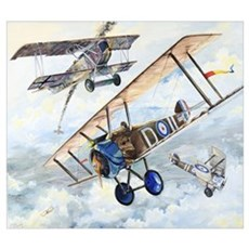 World War I RAF Sopwith Camel Canvas Art
