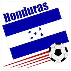Honduras Soccer Team Poster