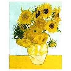 Van Gogh Sunflowers Poster