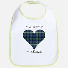 Heart-MacKenzie Cotton Baby Bib