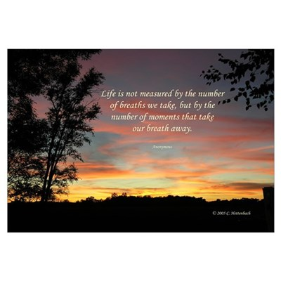 Life's Moments Sunset Canvas Art
