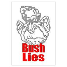 Bush Lies Poster
