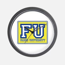 Faber University Animal House Wall Clock