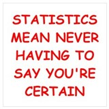 Statisticians Posters