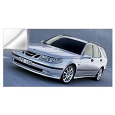 Saab 9.5 Wall Decal