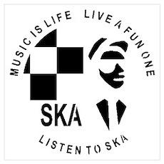 Listen To Ska Poster