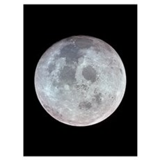 Moon from Apollo 11 space gift Canvas Art