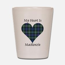 Heart-MacKenzie Shot Glass