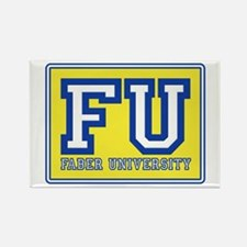 Faber University Animal House Rectangle Magnet