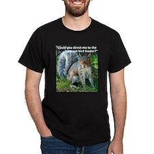 Squirrel Bird T-Shirt