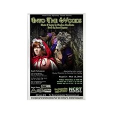 Into the Woods Rectangle Magnet