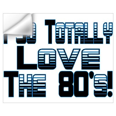 Love The 80's Wall Decal