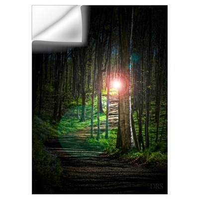 Lighted Path Wall Decal