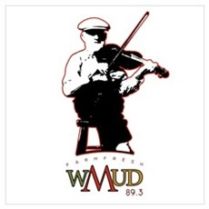 wMud Fiddle Canvas Art