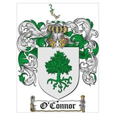 O'Connor Family Crest Poster