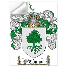O'Connor Family Crest Wall Decal