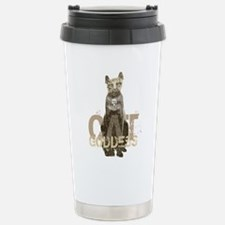 Egyptian Cat Goddess Travel Mug