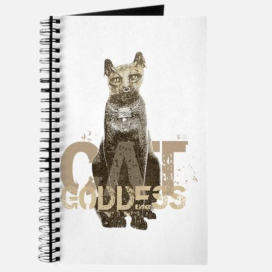 Egyptian Cat Goddess Journal
