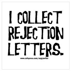 Rejection Letters Framed Print