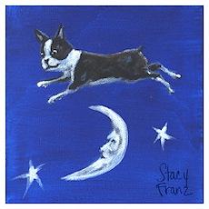 Moon-Jumper Boston Poster