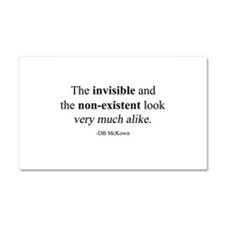 Invisible! Car Magnet 20 x 12