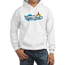 Cape Cod MA - Surf Design Hoodie