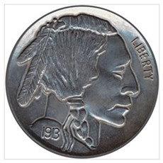 The Indian Head Nickel Poster