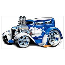 1928 Ford Tudor Sedan Poster