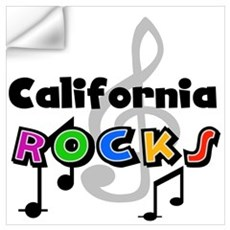 California Rocks Wall Decal