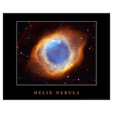 "Helix Nebula <br>(18"" x 14.5"") Poster"