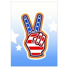 """""""Peace Sign"""" Poster"""
