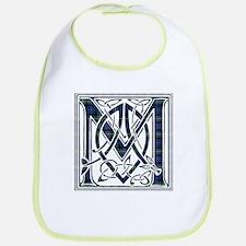 Monogram-MacKenzie Cotton Baby Bib