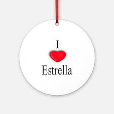 Estrella Ornament (Round)