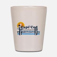 Cape Cod MA - Pier Design Shot Glass