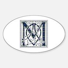 Monogram-MacKenzie Sticker (Oval)