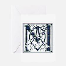 Monogram-MacKenzie Greeting Card