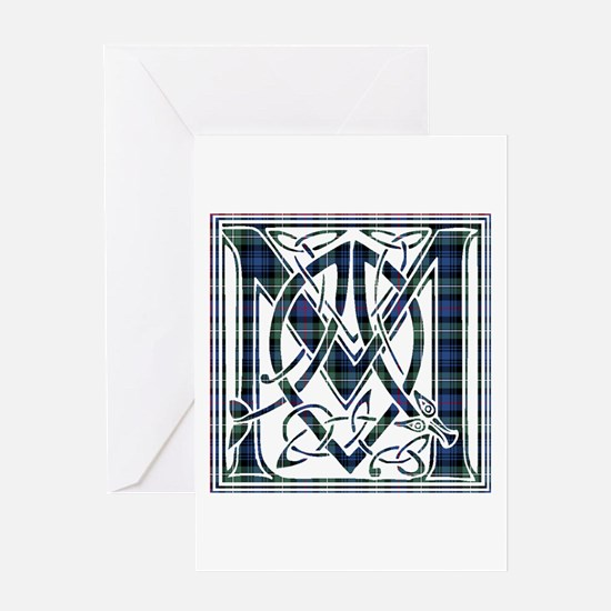 Monogram-MacKenzie Greeting Card