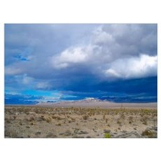 Nevada Storm Clouds Poster