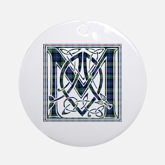 Monogram-MacKenzie Round Ornament