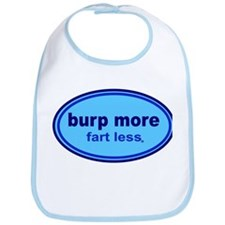 Burp More, Fart Less Bib