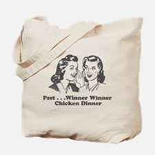 Cute Winner winner chicken dinner Tote Bag